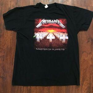 """METALLICA """" Master Of Puppets"""" T-Shirt"""